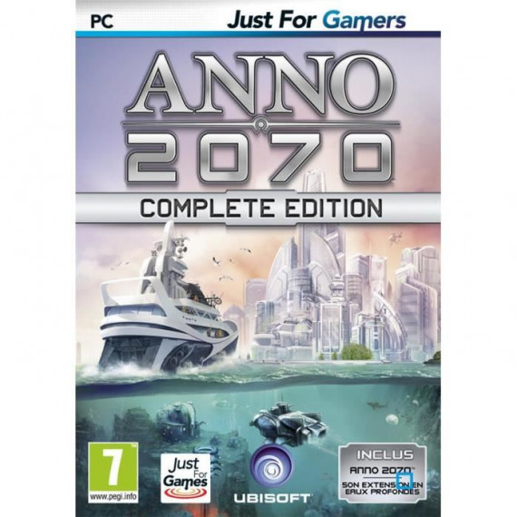 JUST FOR GAMES ANNO 2070 COMPLETE PC