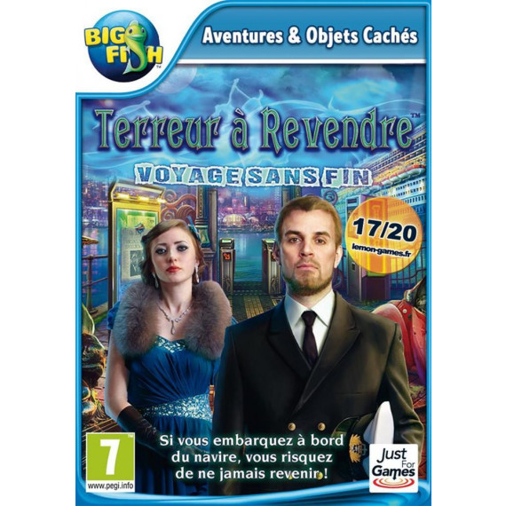 JUST FOR GAMES TERREUR A REVENDRE 6 PC