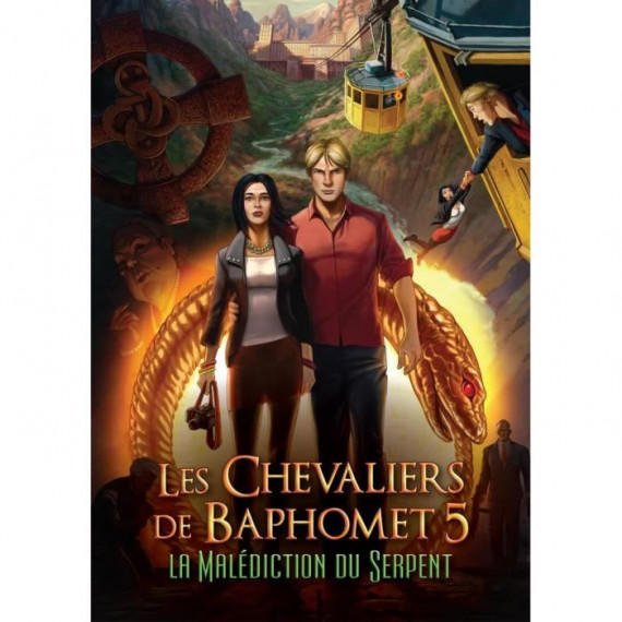 JUST FOR GAMES LES CHEVALIERS DE BAPHOMET PS4