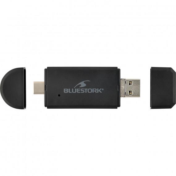 BLUESTORK Lecteur de cartes USB-A/USB-C/micro-USB