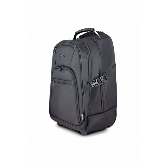 URBAN FACTORY Sac a dos a roues Uni Trol  Sac a dos a roulettes Union Trolley Backpack 15,6 Pouces V2