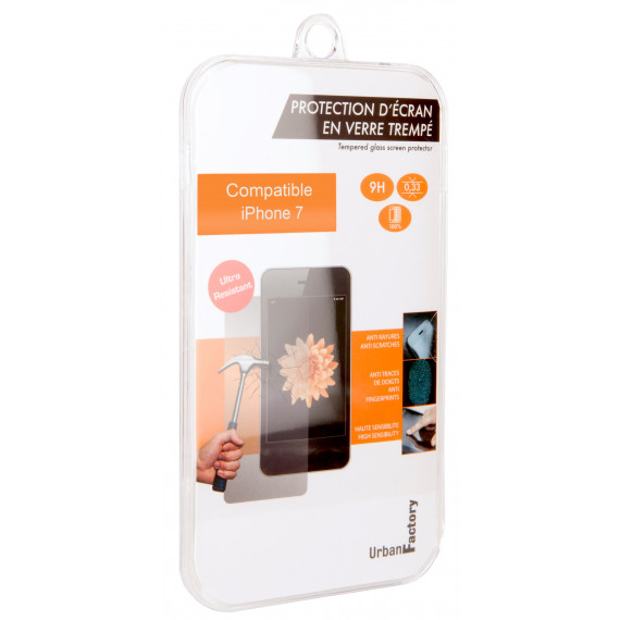 URBAN FACTORY TEMPERED GLASS IPHONE 7