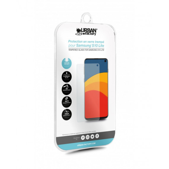 URBAN FACTORY 9H TEMPERED GLASS 0.33MM