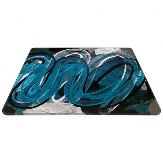 Xtrfy GP4 Street Blue Gaming Tapis de souris - large