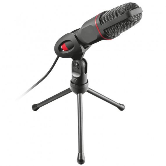 TRUST GXT 212 Mico USB Microphone avec Trépied - noir