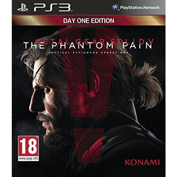 Konami Metal Gear Solid V : The Phantom Pain (PS3)
