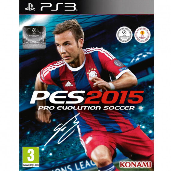 Konami Pro Evolution Soccer 2015 (PS3)