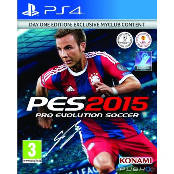 Konami Pro Evolution Soccer 2015 (PS4)
