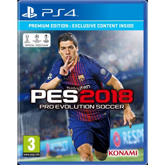 Konami PES 2018 Premium D1 Edition (PS4) (Pré-commande - Sortie le 14 Septembre 2017)