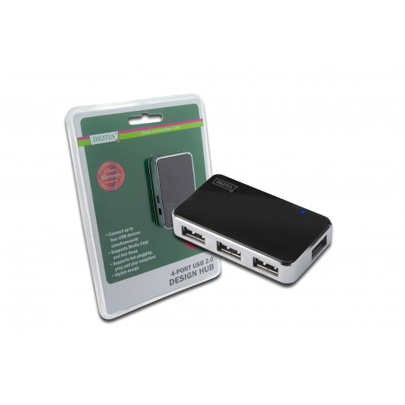 DIGITUS 4-Port USB 2.0 Hub