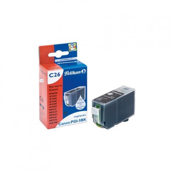 GENERIQUE Cartouche compatible CANON CCLI521BK Noir pour Imprimante PIXMA IP4600