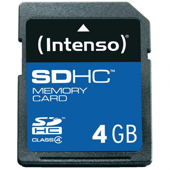 INTENSO Secure Digital SDHC Card 4 GB
