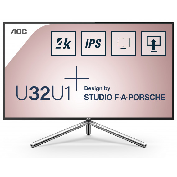 AOC AOC U32U1 32inch 4K HDR 600 Display AOC U32U1 32inch 4K HDR 600 Display with USB-C