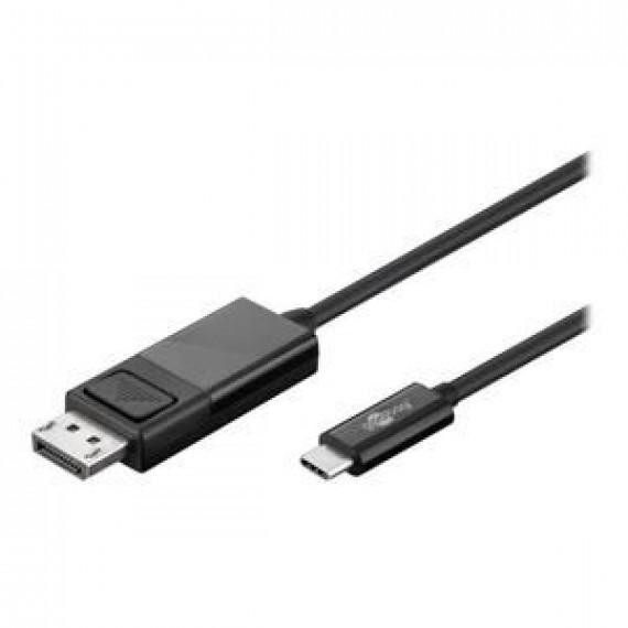 GENERIQUE goobay Adaptateur vidéo externe USB-C DisplayPort noir En vrac
