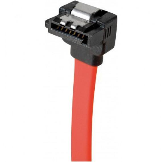 GENERIQUE Câble SATA coudé vers le bas avec verrou (50 cm)