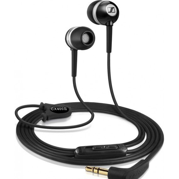 MCL Ecouteurs intra-auriculaires CX 400-II Precision Black