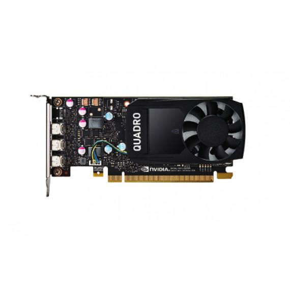 Fujitsu NVIDIA QUADRO P400 Carte graphique Quadro P400 2 Go PCIe x16 profil bas 3 x Mini DisplayPort pour PRIMERGY TX2550 M4