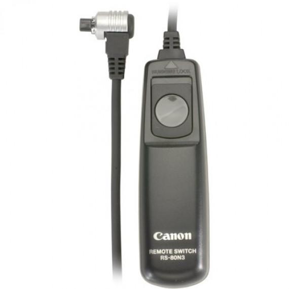 Télécommande Canon Fernauslöser RS-80N3 noir sortie à distance pour Canon Appareils Photo Numériques sortie à distance