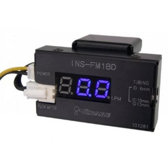 Watercooling Accessories Débimètre Koolance INS-FM18D avec affichage