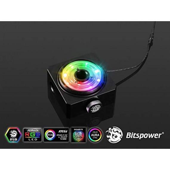 BitsPower Couvercle de l'adaptateur de réservoir Bitspower DDC TOP Conditions générales Attachement DRGB - PO