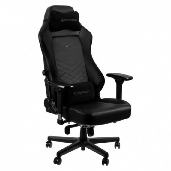 Noblechairs chaises chic HERO Chaise de jeu - noir / noir