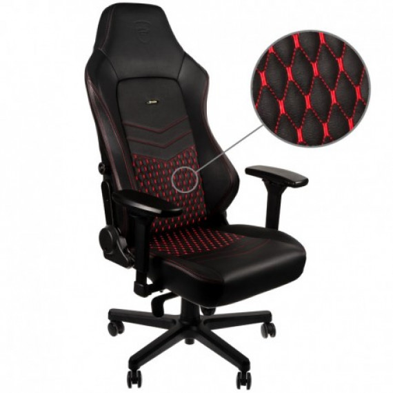 Noblechairs chic chaises HERO Chaise de jeu - Noir / Rouge