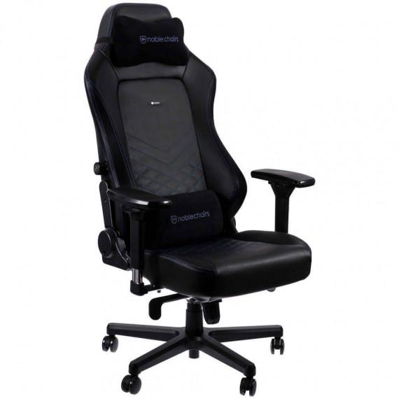 Noblechairs chaises chic HERO Chaise de jeu - noir / bleu