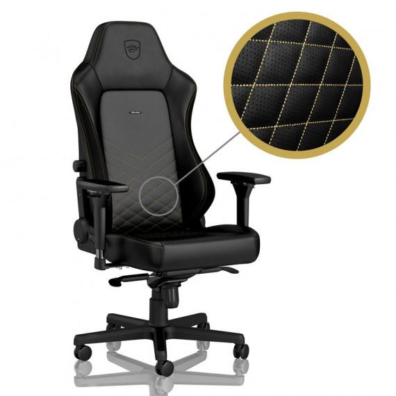 Noblechairs chic chaises HERO Chaise de jeu - noir / or