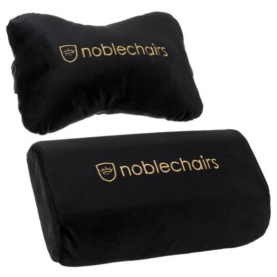Noblechairs élégant ensemble de coussin chaises pour EPIC / ICON / HERO - noir / or