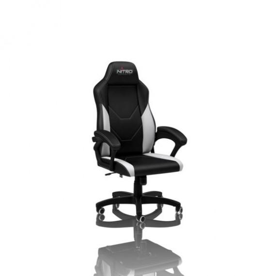 Nitro Concepts C100 Gaming Chair - noir / blanc