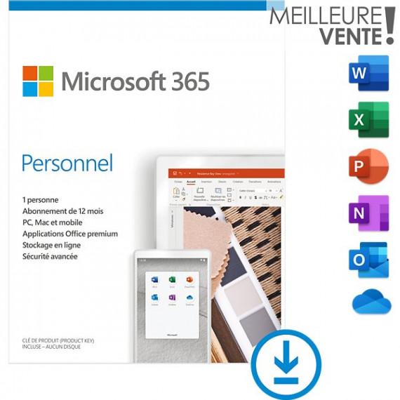 Microsoft Logiciel de bureautique  365 Personnel   -