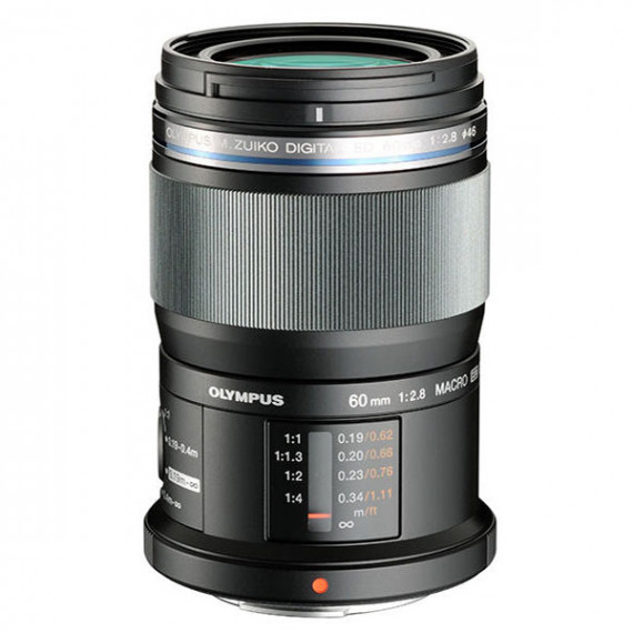 Olympus M.ZUIKO DIGITAL ED 60 mm 1:2.8 Macro Noir