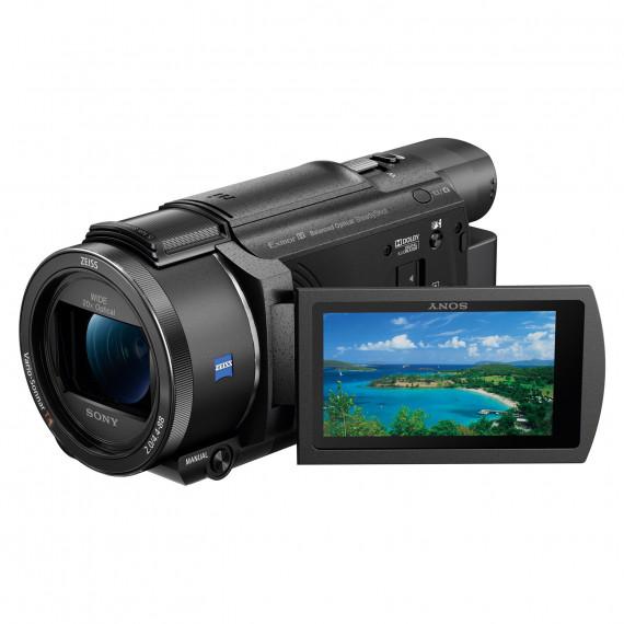 SONY Sony FDR-AX53B - Caméscope 4K, zoom 20x, stabilisateur optique, Wi-Fi et NFC