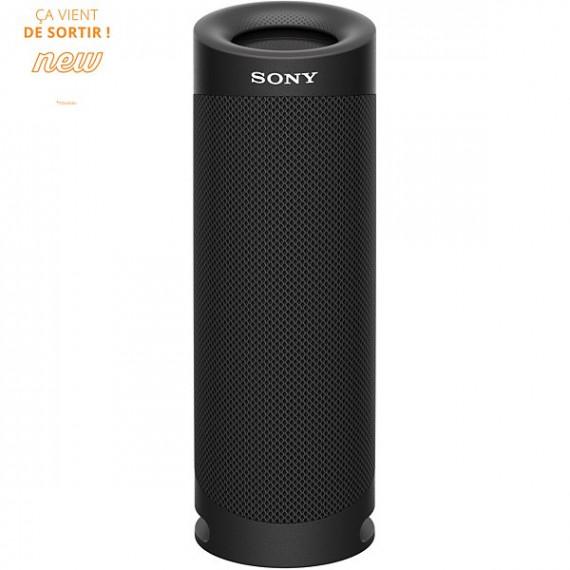 SONY Enceinte Bluetooth  SRS-XB23 Extra Bass Noir Basalte