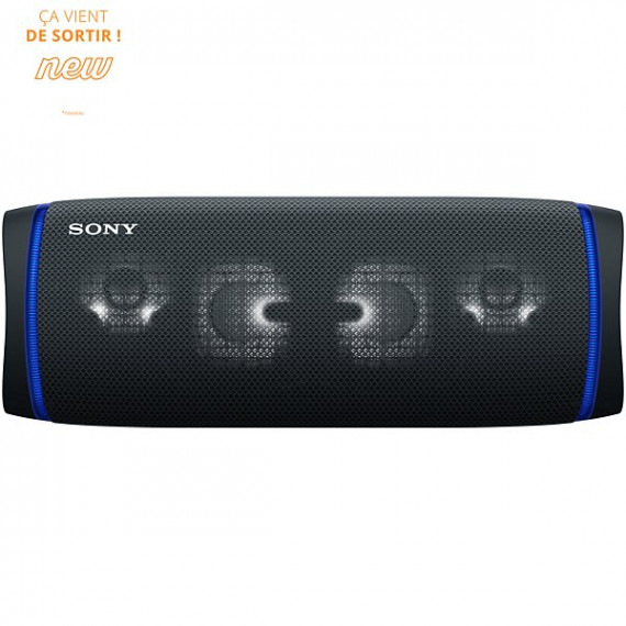 SONY Enceinte Bluetooth  SRS-XB43 Extra Bass Noir Basalte