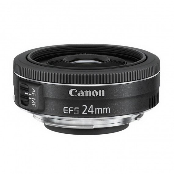 CANON Canon EF-S 24 mm f/2,8 STM - Objectif pancake