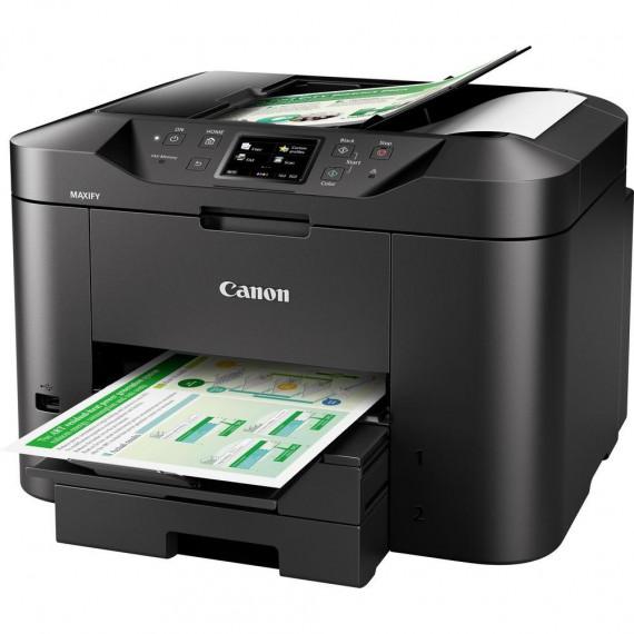 Imprimante Multifonction Canon Maxify MB2750 noir, USB/(W)LAN, Scan, Copie, Fax