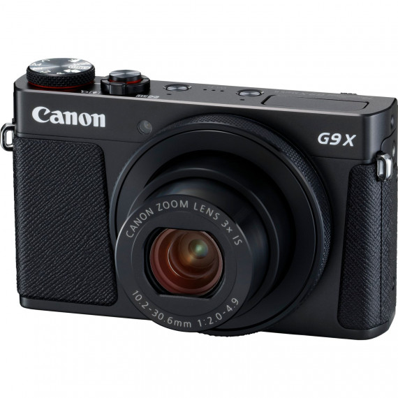 "Canon PowerShot G9 X Mark II Noir - Appareil photo 20.1 MP - Zoom optique 3x - Vidéo Full HD - Écran LCD tactile 3"" - Wi-Fi/Bluetooth/NFC"