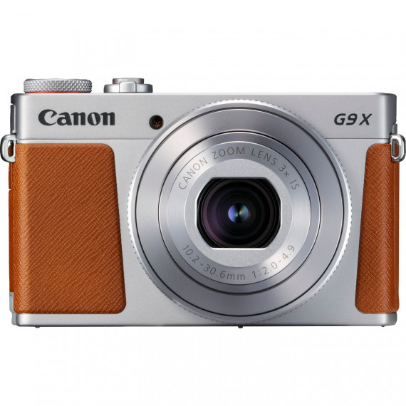 "Canon PowerShot G9 X Mark II Argent - Appareil photo 20.1 MP - Zoom optique 3x - Vidéo Full HD - Écran LCD tactile 3"" - Wi-Fi/Bluetooth/NFC"