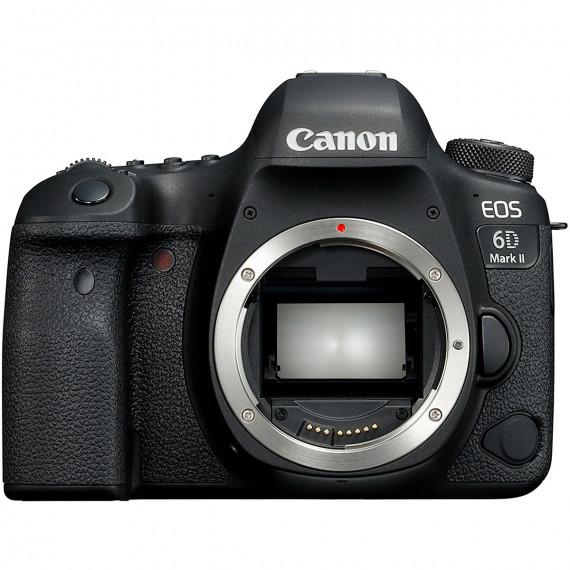 """CANON Canon EOS 6D Mark II - Reflex Numérique 26.2 MP - Ecran tactile orientable 3"""" - Vidéo Full HD 60p - Wi-Fi/NFC - Bluetooth (boîtier nu)"""