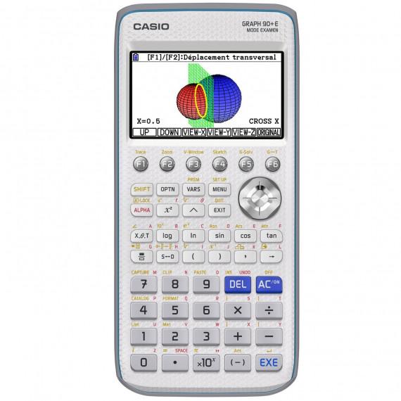 Casio Casio Graph 90+E (Mode Examen) - Calculatrice graphique avec mode examen pour lycée et études supérieures