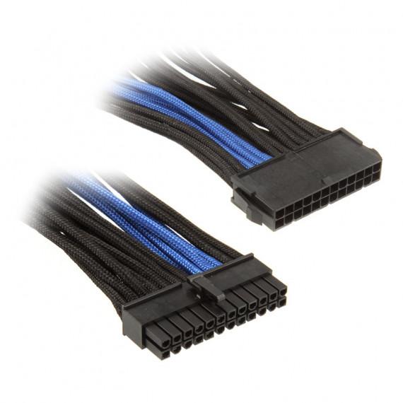 SILVERSTONE ATX 24 broches, 300mm - noir/bleu