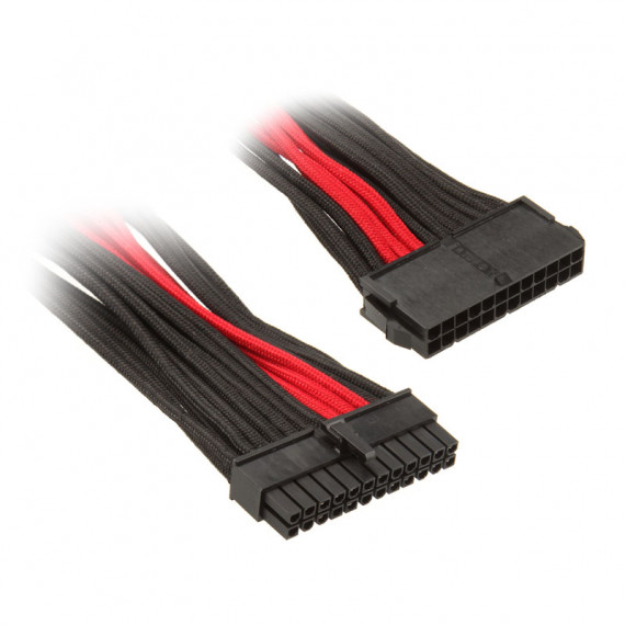 SILVERSTONE ATX 24 broches, 300mm – noir/rouge
