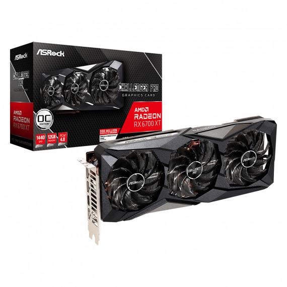 ASROCK AMD Radeon RX 6700 XT Challenger Pro 12GB OC