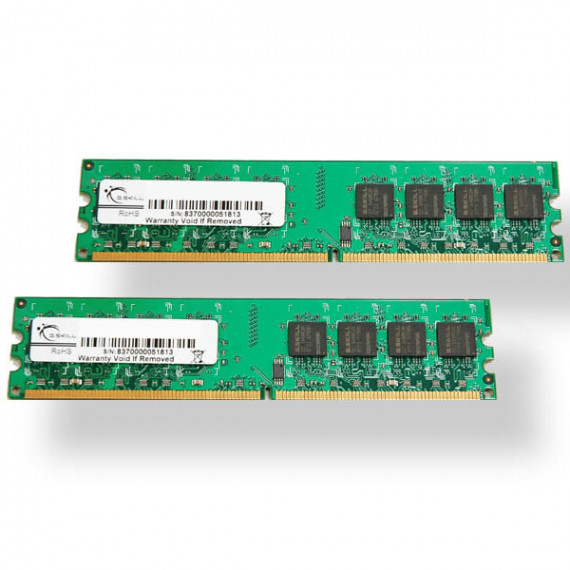 GSKILL Standard Series 4 Go (kit 2x 2 Go) DDR2-SDRAM PC2-6400