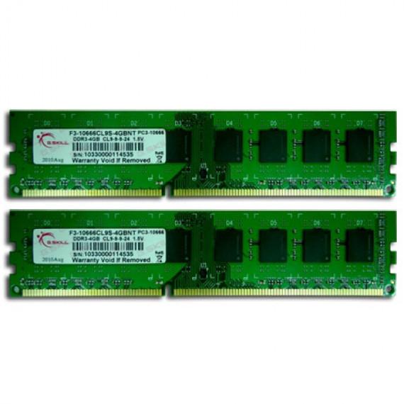 GSKILL NT Series 8 Go (kit 2x 4 Go) DDR3-SDRAM PC3-10600