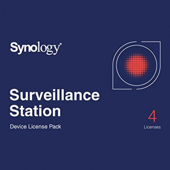 SYNOLOGY Pack 4 licences pour caméras supplémentaires