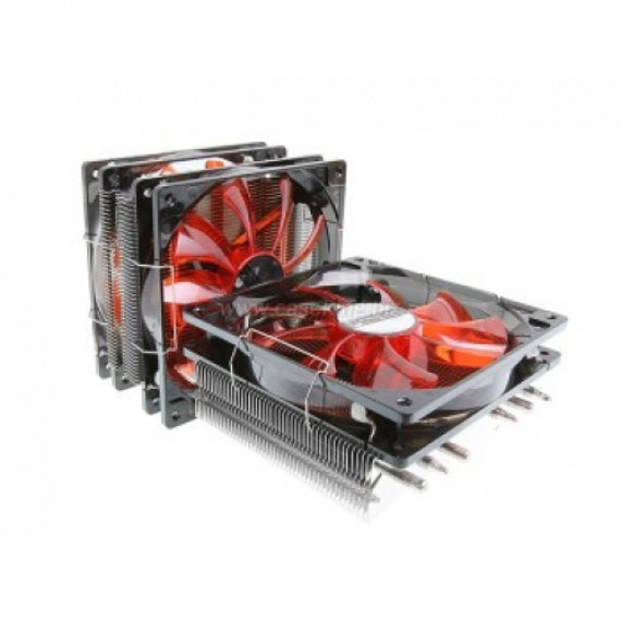 Prolimatech pinces de ventilateur Genesis - 120/140 mm