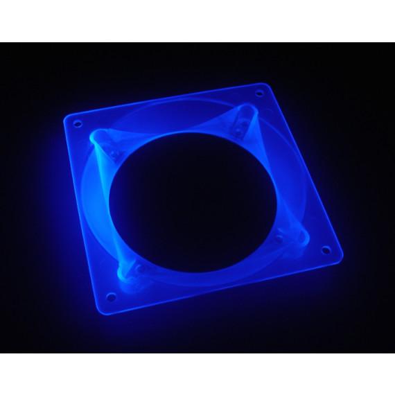 BitsPower Bitspower ultime Adaptateur ventilateur 80 / 92mm à 120mm - bleu UV