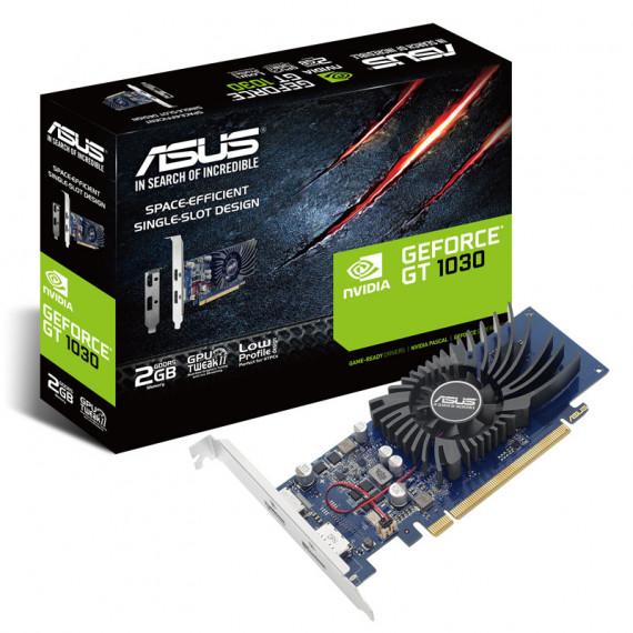 ASUS GeForce GT 1030 2G  2048 Mo GDDR5 - fente unique  profil bas